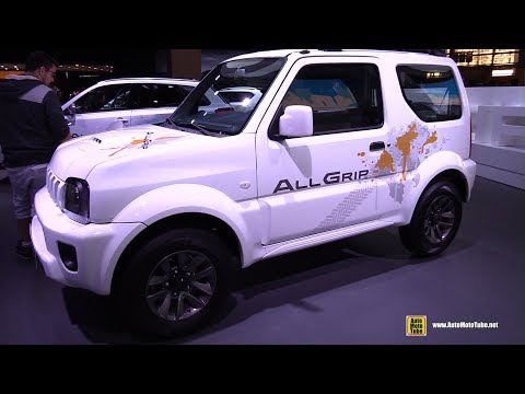 2017 Suzuki Jimny All Grip - Exterior and Interior Walkaround - 2016 Paris Motor Show