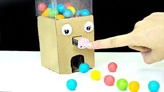 Cách làm máy bán kẹo tự động cho trẻ em