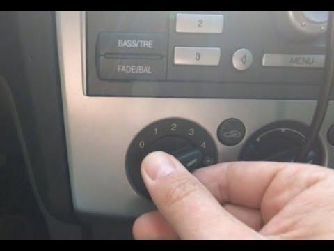 форд фокус 2 - печка работает только на 4 скорости