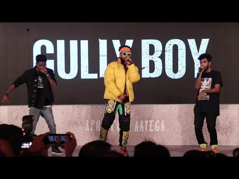 Ranveer Singh AMAZING RAP At Gully Boy Trailer Launch | Asli Hip Hop