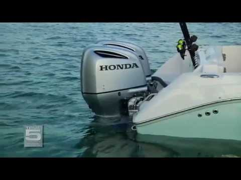 Honda Marine NEW 250hp Outboard Video (Mesin Tempel)