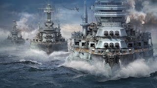WORLD OF WARSHIPS - Guerra... de Navios de Guerra! Gameplay em Português!