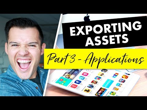 Exporting Design Assets for Projects | Part 3 - iOS & Android Applications