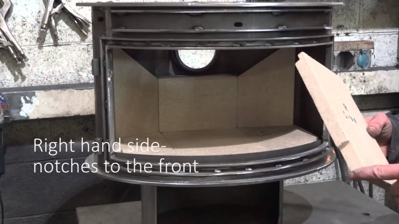 How To Install The Fire Bricks Youtube