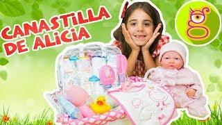 La CANASTILLA de la bebe Reborn ALICIA LARA pone las huellas de la bebe en el marco de FO ...