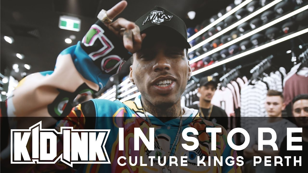 4982c79e6c33 CK  Holy Grail  Tour Perth  Kid Ink in-store - Part 3 - YouTube