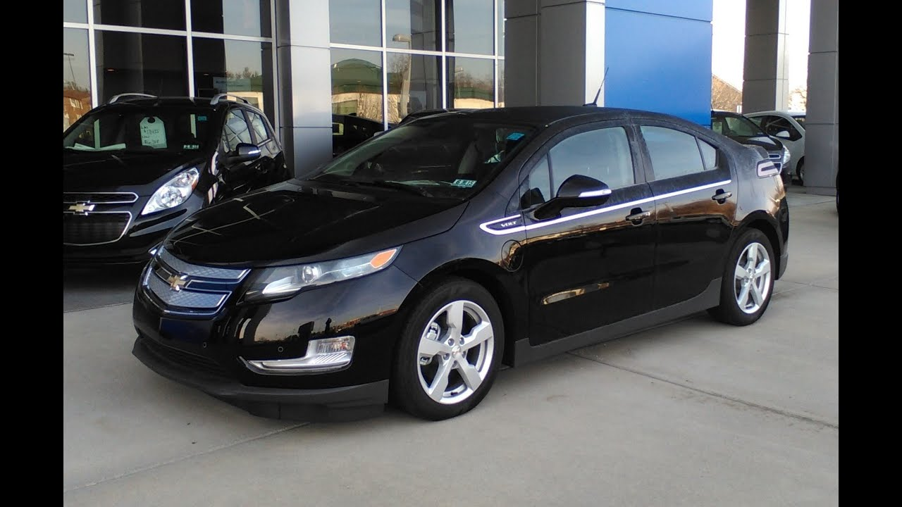 2014 Chevy Volt Start Up Tour And Review Youtube