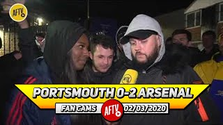 Portsmouth 0-2 Arsenal | We Could Still Finish Fourth & Win The FA Cup! (DT)