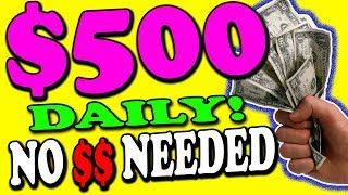 Earn $500 Working One Hour A DAY Online For FREE Copy & Pasting Links! (Make Money Online)