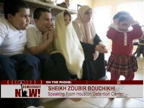 EXCLUSIVE: Jailed  Imam Zoubir Bouchikhi Speaks from Private Immigration Prison. 4/29/09 2 of 2