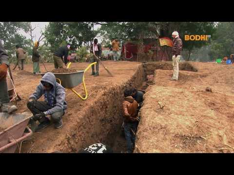 Bodhi TV : Report : Excavation for 2500 years old palace in Kapilvastu, Nepal