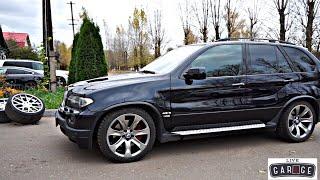 BMW X5 E53 4.8iS ЧТО КРАСИВЕЕ ОРИГИНАЛ ИЛИ ADV1?
