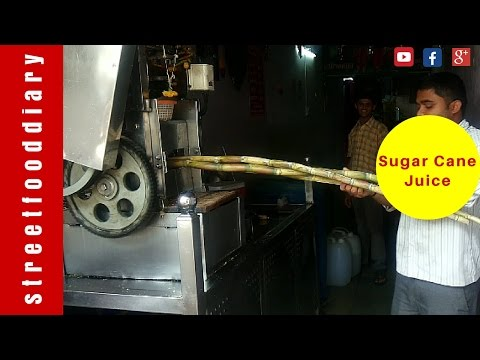Sugar cane juice India -Tasty, Fresh and Sweet - Best street food In India