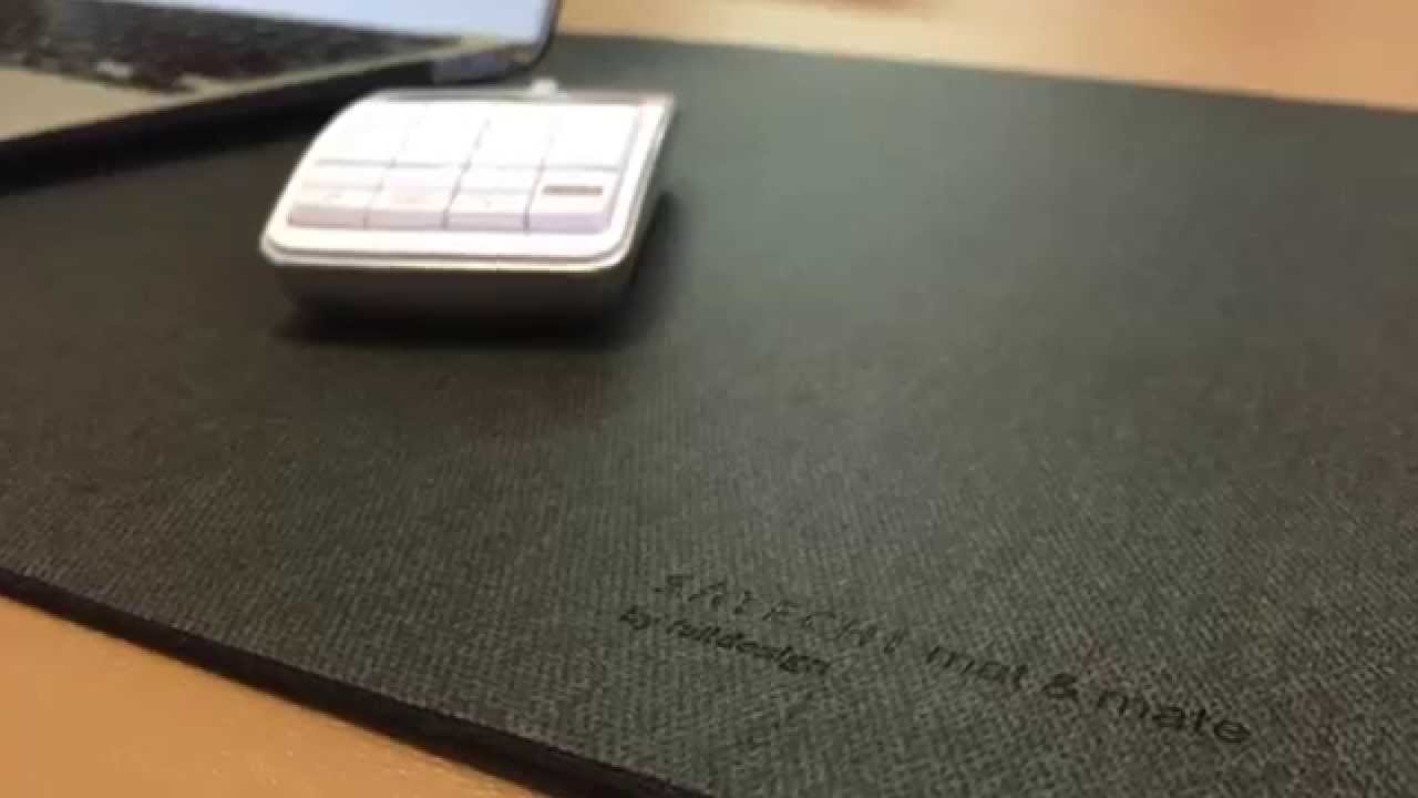 satechi desk mat mate with water resistant and non slip
