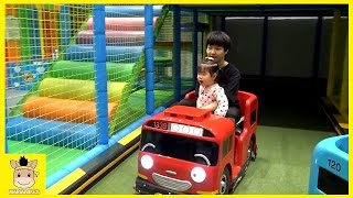 Tayo the little bus Kids Cafe Drive Indoor Playground for Family Fun Play | MariAndKids Toys