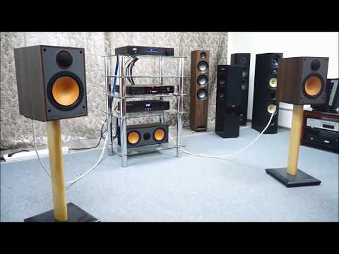 Прослушивание акустики Monitor 100  от Monitor Audio.