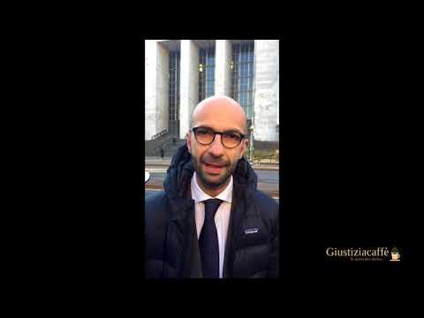 La protesta per i braccialetti elettronici - Eugenio Losco, Camera penale Milano