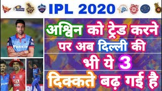 IPL 2020 - Inlist 3 Disadvantage For Delhi From Ashwin Trading | IPL Auction | MY Cricket Production
