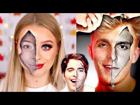 THE DARK SIDE OF JAKE PAUL.. MAKEUP TUTORIAL/HALLOWEEN LOOK | sophdoesnails thumbnail