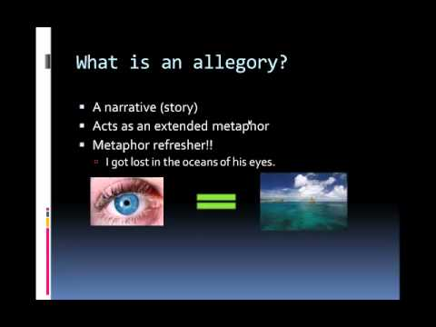 Symbolism Vs Allegory Youtube