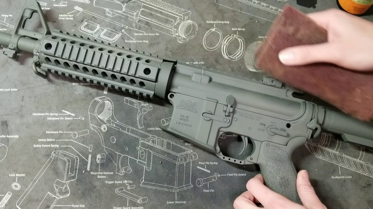 How To Spray Paint Your Gun You
