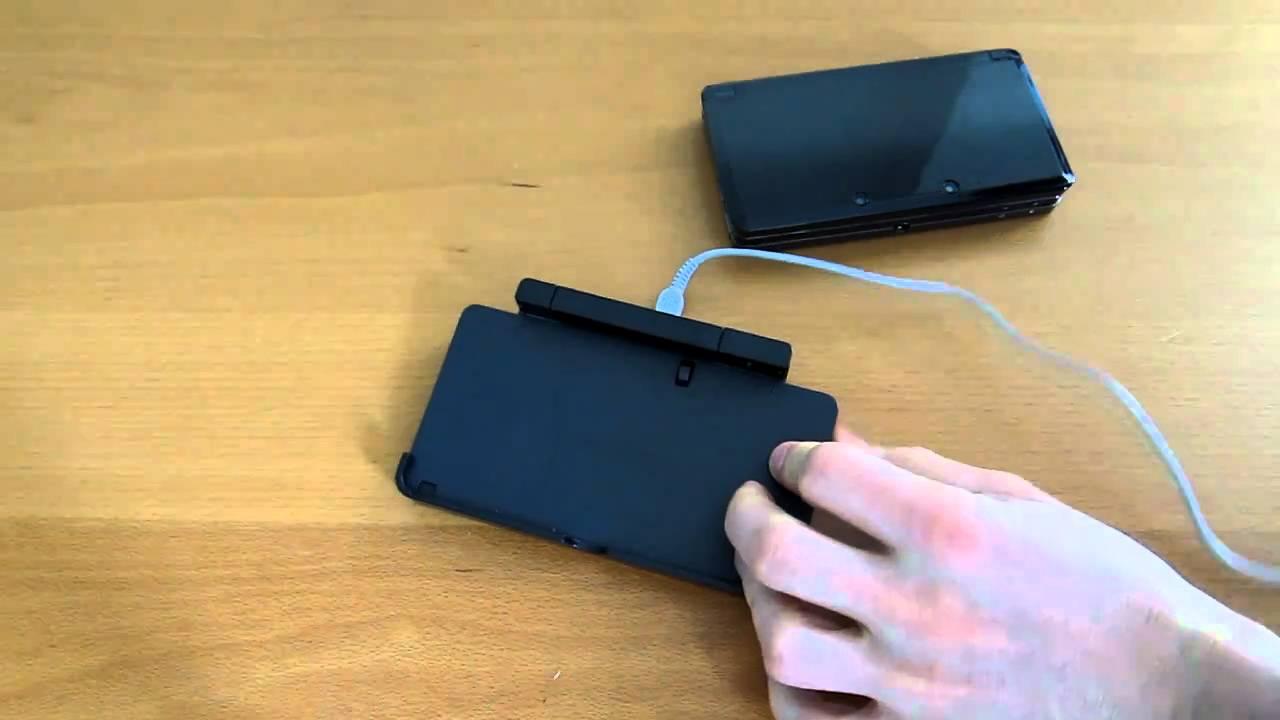 Nintendo 3ds Charging Dock Youtube