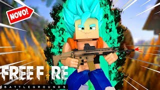 Minecraft: NOVO FREE FIRE DRAGON BALL SUPER BROLY !!! ‹ Goten ›