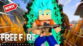Minecraft: NOVO FREE FIRE DRAGON BALL SUPER BROLY !!! ‹ Goten ›