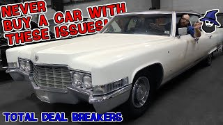 NEVER buy a car with these issues! The CAR WIZARD shares what to lookout for when buying a used car