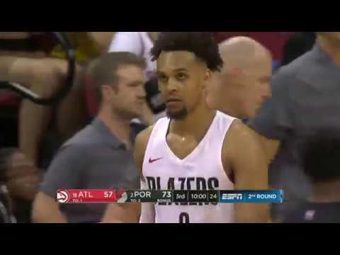 NBA Atlanta Hawks vs Portland Trail Blazers   Summer League   Jul 12,  2018
