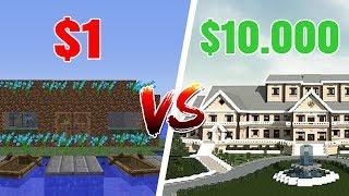 $1 HUS vs $10,000 HUS I MINECRAFT!! - Dansk