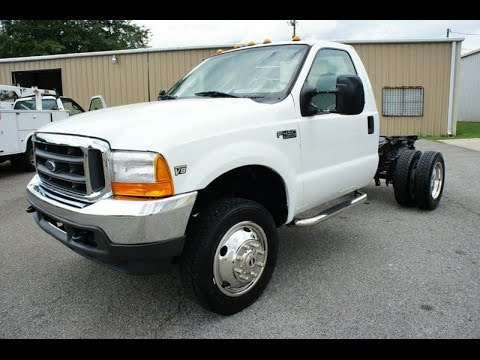 1999 ford f 450 7 3 powerstroke diesel 4x4 low miles for sale youtube. Black Bedroom Furniture Sets. Home Design Ideas