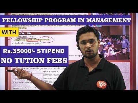 IIM CALCUTTA Fellowship Program In Management