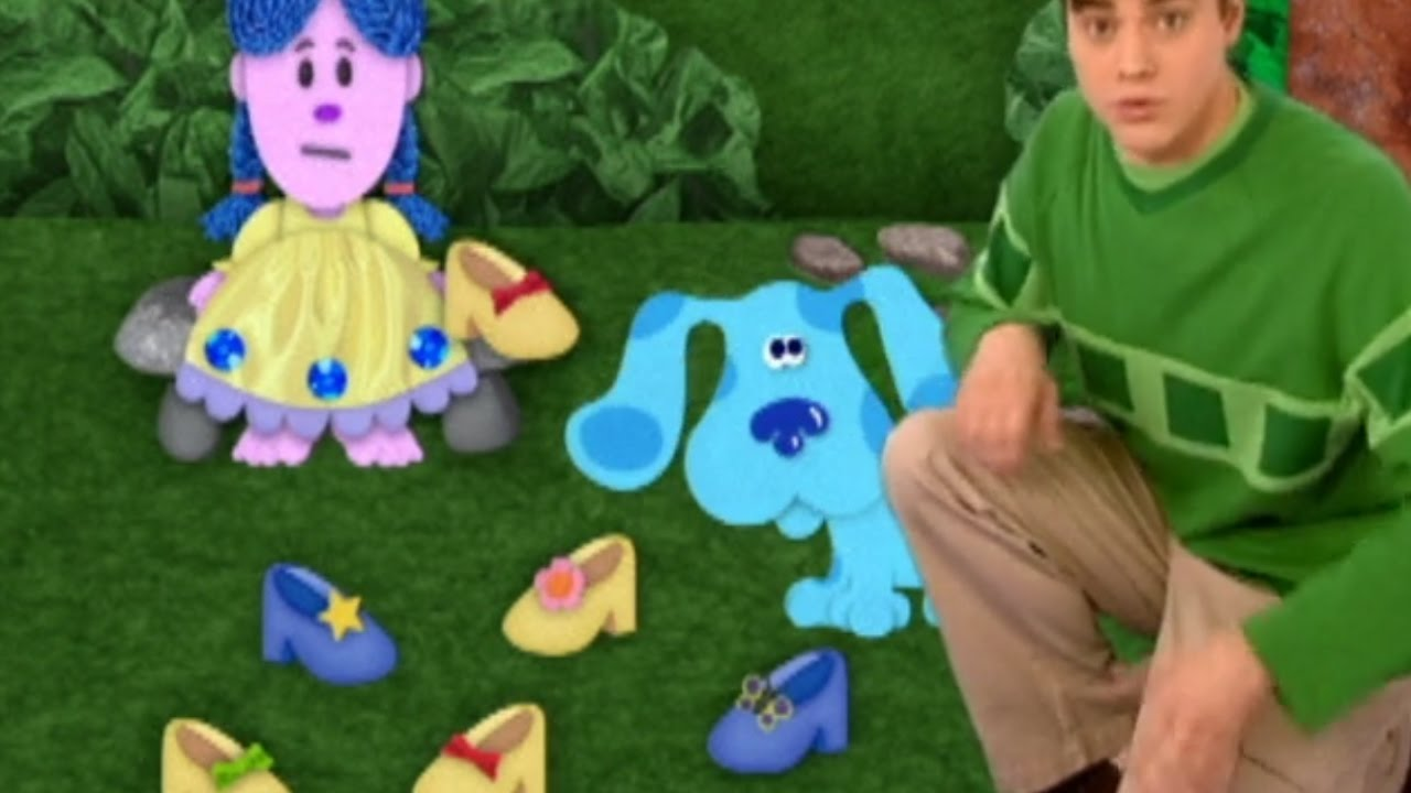 Blue's Clues - Can You Help? - YouTube