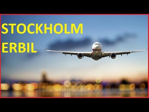 Flights from Stockholm, Sweden  Arlanda Airport  to Erbil Kurdistan International Airport