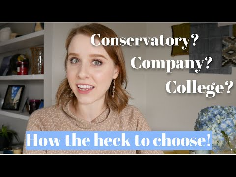 Ballet Conservatory, College, or Company? How to Choose. | TwinTalksBallet