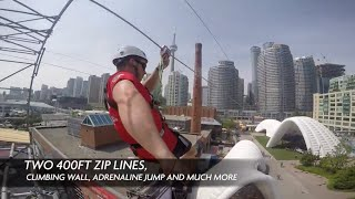Ontario's Celebration Zone Zip Line