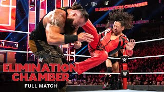 FULL MATCH - Braun Strowman vs. Sami Zayn, Shinsuke Nakamura & Cesaro: Elimination Chamber 2020