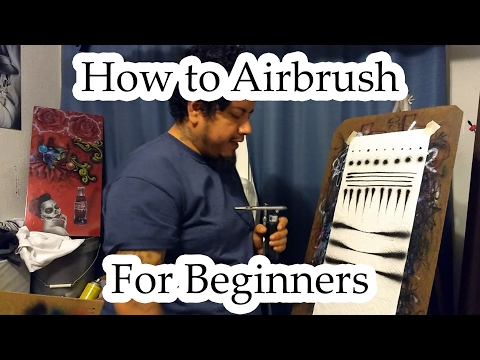 How to Airbrush for Beginners