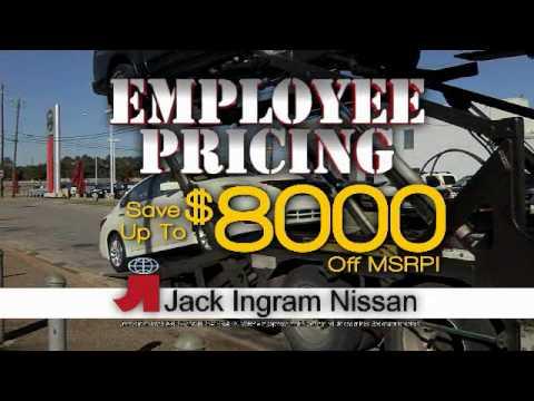 Jack Ingram Nissan >> Jack Ingram Nissan Employee Pricing