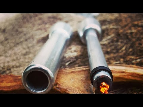 Fire Piston/char Cloth Bushcraft