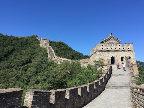(China part 6) The Great Wall, Ming Tombs, & The Legend of Kung Fu show