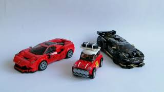 Moja kolekcja Lego Speed Champions