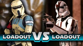 Star Wars Battlefront 2 - Assault 2015 vs Assault 2017 (Loadout vs Loadout)