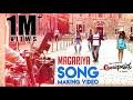 Anjaniputhraa - Magariya (Song Making Video) | Puneeth Rajkumar, Rashmika Mandanna | A. Harsha