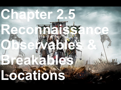 For Honor All Collectibles - Chapter 2.5 Reconnaissance Walk