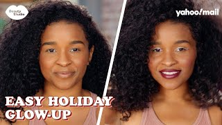 How To Elevate Your HOLIDAY GLAM LOOK With These Simple Steps