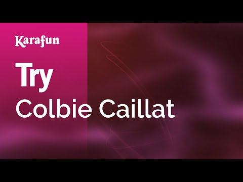 Karaoke Try - Colbie Caillat *