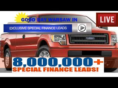 Exclusive Special Finance Leads in Warsaw Indiana