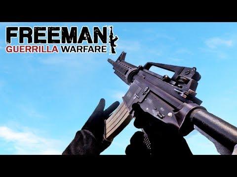Freeman : Guerrilla Warfare Gun Sounds of All Weapons |